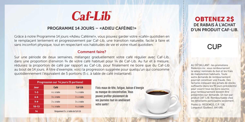 CAF-LIF – DÉFI 14 JOURS