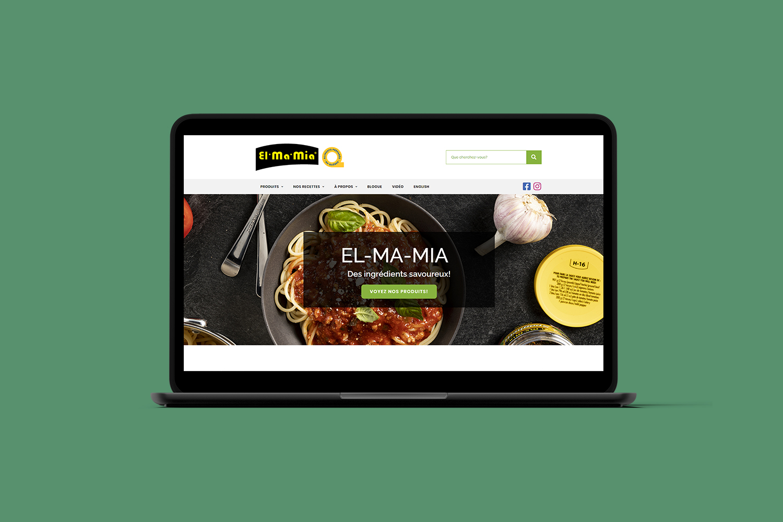 Refonte du site Web - El Ma Mia